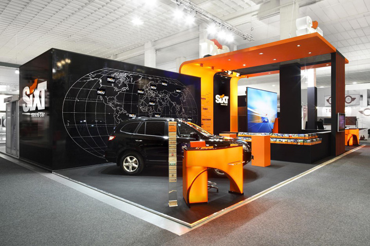Exhibition Stand Rental Cape Town : Sixt trade show stand by plajer franz studio munich