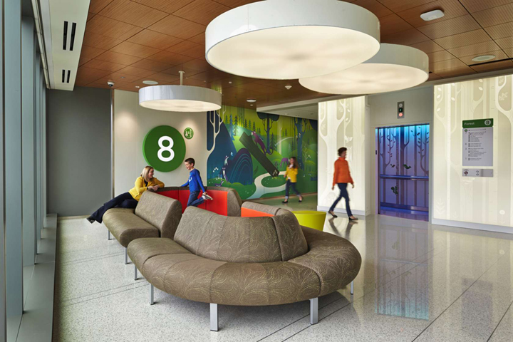 seattle children s hospital by zgf architects seattle us. Black Bedroom Furniture Sets. Home Design Ideas