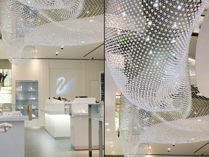 swarovski stores by hartmannvonsiebenthal europe - Swarovski Interior Design