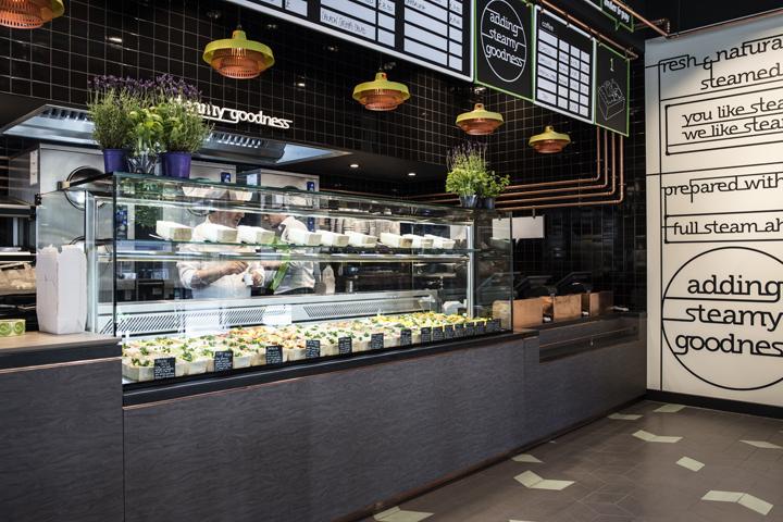 That s vapore restaurant by caulder moore london uk