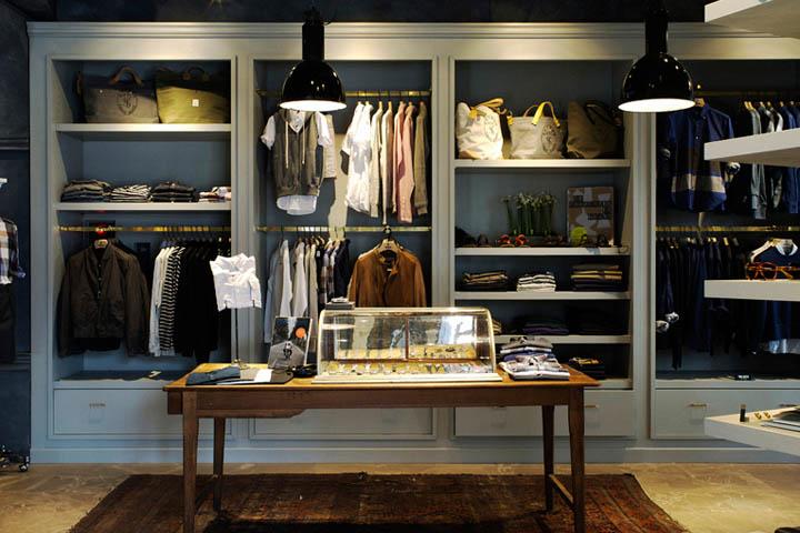 日本东京Todd服装店设计