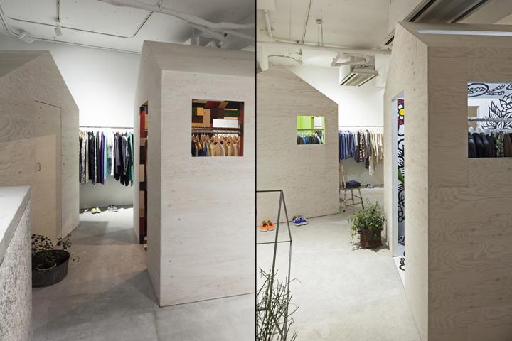日本东京Vintage 服装店设计