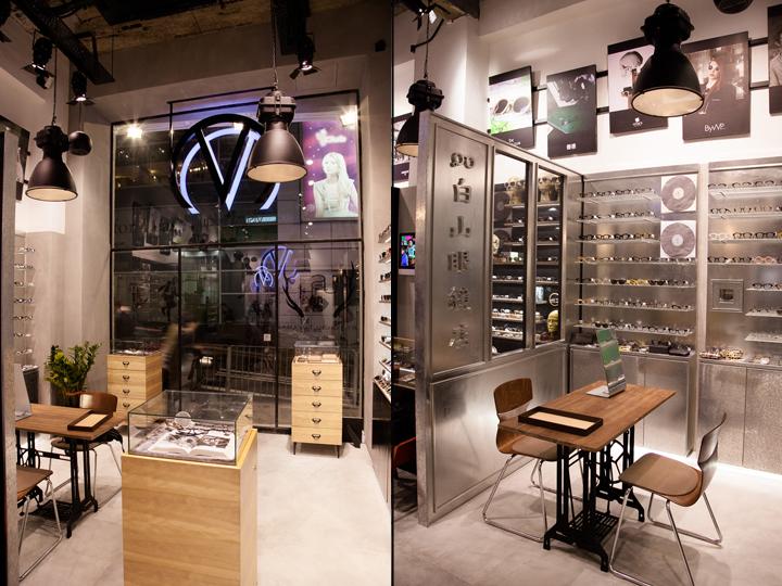 中国香港–Visual Culture 眼镜店设计