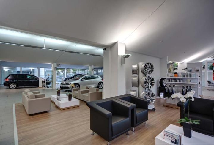 187 Volkswagen Center By Hell Und Freundlich Dortmund Germany