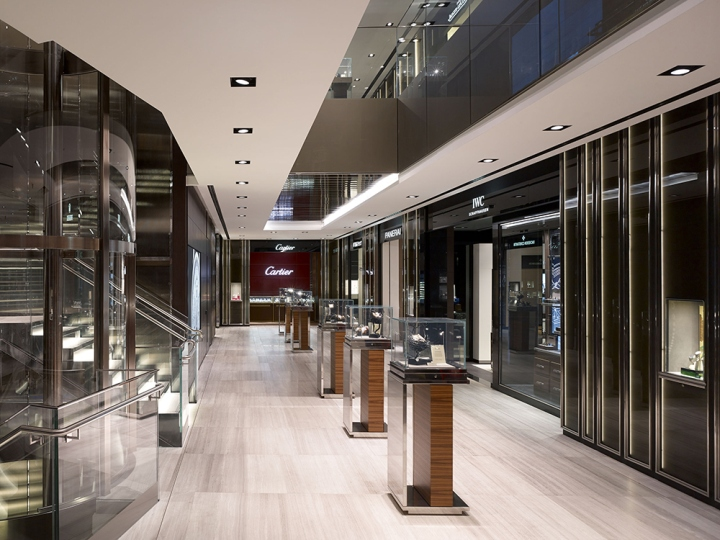 Watches of switzerland landmark flagship store by callison london uk retail design blog Interior design stores london