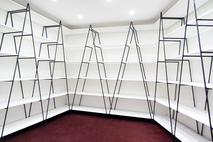 system freshome white string shelf com
