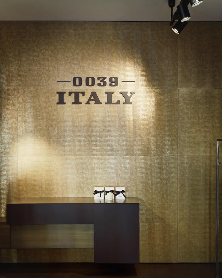 德国柏林0039意大利服装商店设计