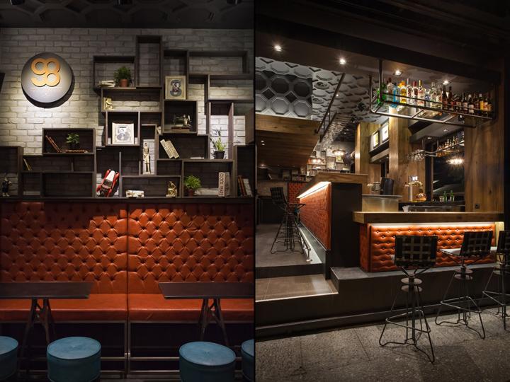 98bar by gagos interior architectural design larissa - Interior leather bar free online ...