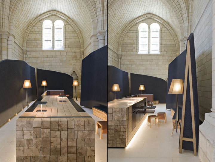 Abbaye de fontevraud hotel by jouin manku anjou france for Design hotel des francs garcons