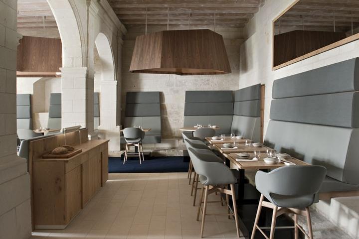 Jouin manku retail design blog - Hotel abbaye de fontevraud ...