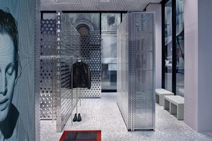 澳大利亚墨尔本概念服装店设计