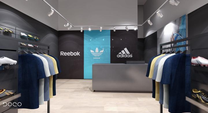 03d8875cc716 » Adidas Reebok multi brand store by Boco Group Warsaw Poland 03