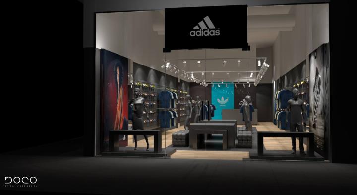 Adidas Reebok multi brand store by Boco Group Warsaw Poland 04