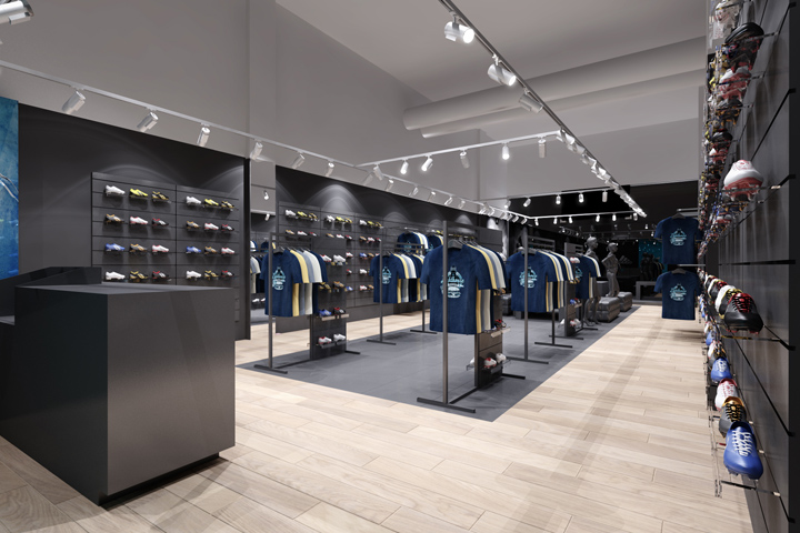 adidas reebok multimarca negozio da boco gruppo varsavia, polonia