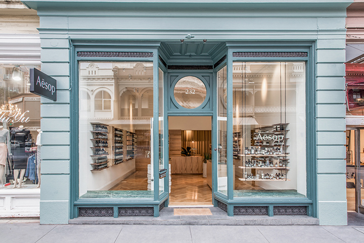 伊索欧式化妆品店设计