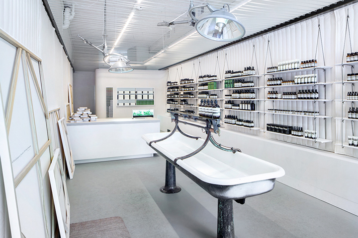 Aesop Store By John Randolph Portland Oregon September 22nd 2014 Retail Design Blog