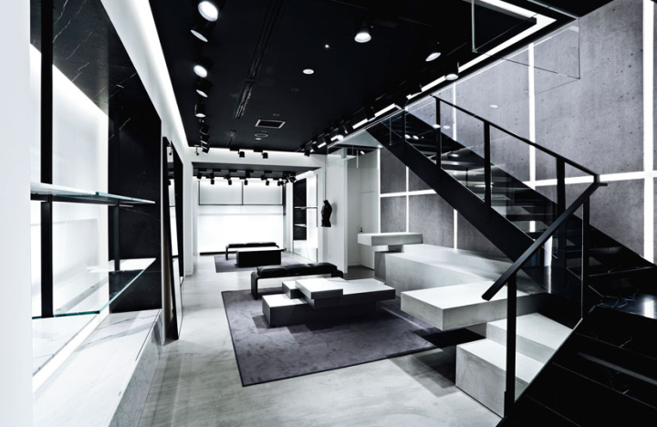 Alexander Wang Store Toyko Japan 187 Retail Design Blog