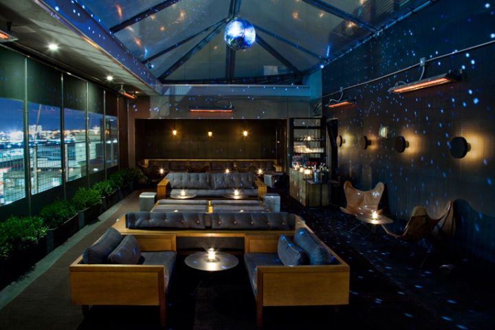 Artico Rooftop Lounge And Restaurant At Hotel Americano New York City