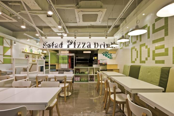 BBong DDerak Pizza By Friendu0027s Design, Seoul U2013 South Korea