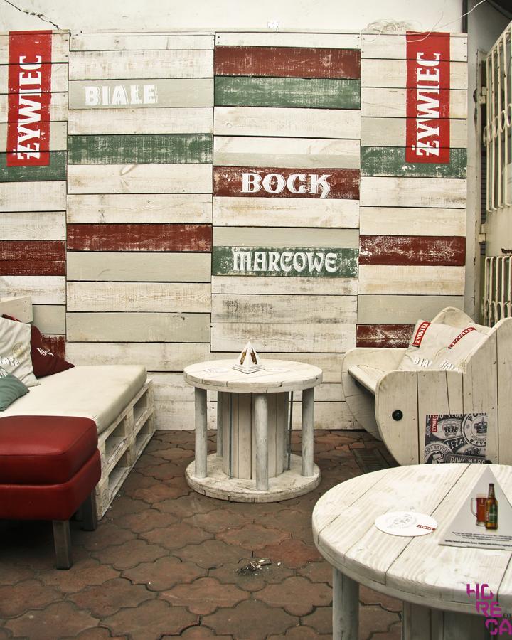 Beer garden by ca Design, Poland » Retail Design Blog on college bar design, silent auction design, long bar design, soda fountain design, beer grotto, jazz lounge design, temporary structure design, cocktail bar design,