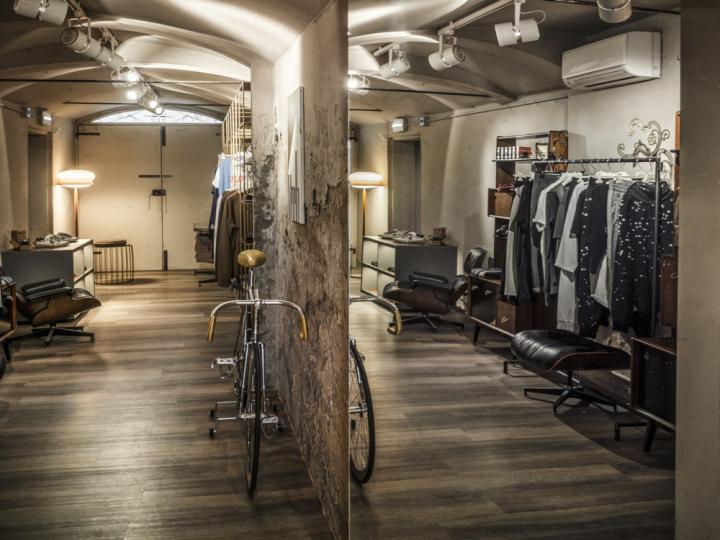 意大利Blond Boutique服装概念店设计
