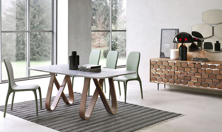 butterfly wooden table by angelo tomaiuolo for tonin casa