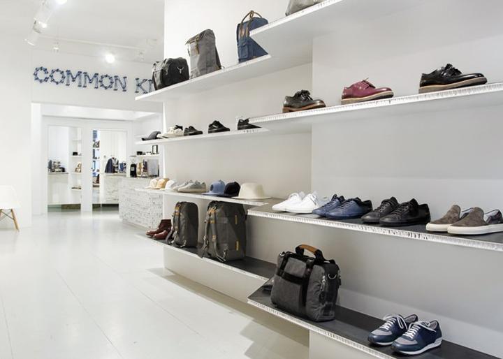 荷兰-海牙Common Kin 2.0 服装店设计