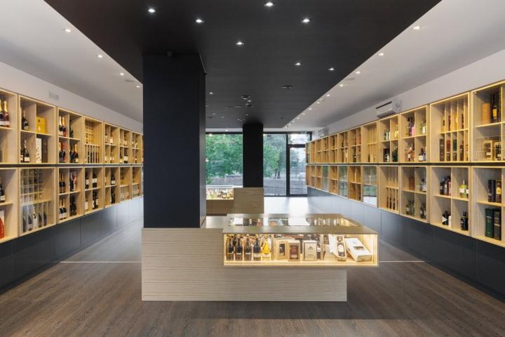 商业空间设计|葡萄牙Congresso红酒商店设计