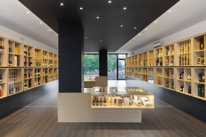 Congresso Das Garrafas Wine Store By Tiago Do Vale Arquitectos Braga Portu