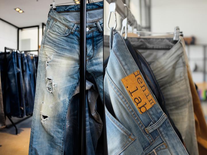 荷兰Denim.lab牛仔裤展厅设计