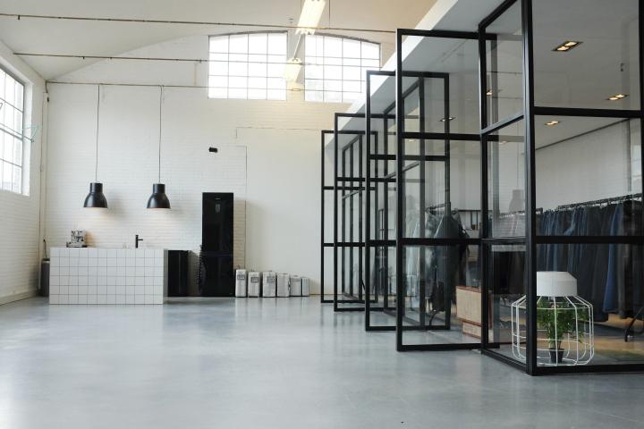 187 Denim Lab Furniture Lab Office Amp Showroom By Sander