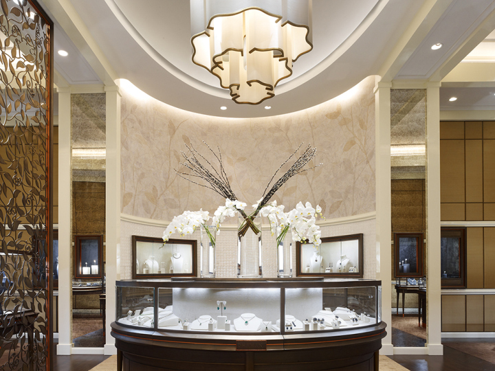 Dhamani 1969 jewelry boutique by callison dubai u a e for Boutique design hotel dubai