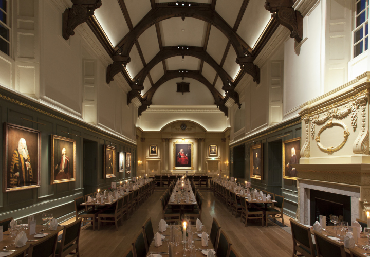 Dining Hall  Trinity Hall lighting design by Hoare Lea Lighting  Cambridge    UKDining Hall  Trinity Hall lighting design by Hoare Lea Lighting  . Hall Lighting Uk. Home Design Ideas