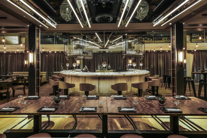 Isono eatery bar vasco by joyce wang hong kong retail design blog for Deco restaurant design