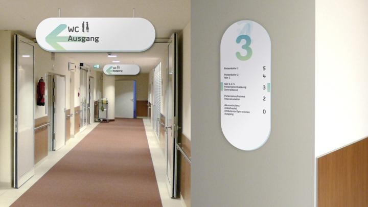 187 Signage Amp Wayfinding Isar Medical Centre Signage System