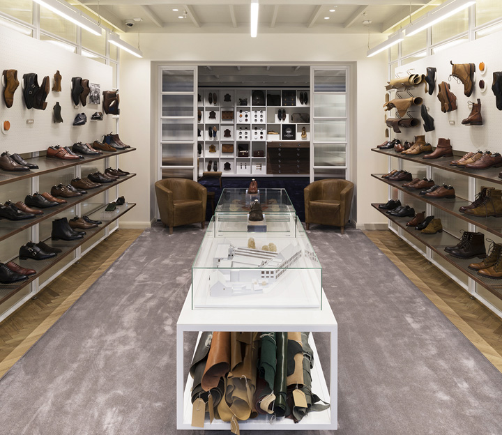 Joseph Cheaney flagship store by Checkland Kindleysides London UK 02 Joseph Cheaney flagship store by Checkland Kindleysides, London   UK