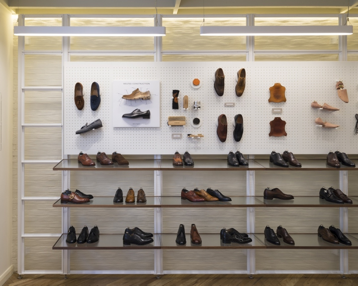 Small Exhibition Stand Near Me : Joseph cheaney flagship store by checkland kindleysides
