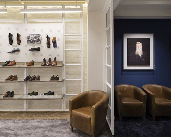 Joseph Cheaney flagship store by Checkland Kindleysides London UK 16 Joseph Cheaney flagship store by Checkland Kindleysides, London   UK