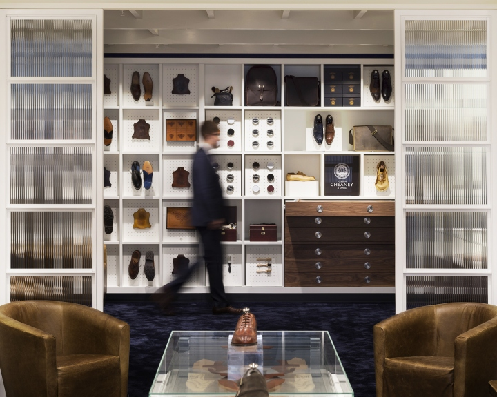 Joseph Cheaney flagship store by Checkland Kindleysides London UK 19 Joseph Cheaney flagship store by Checkland Kindleysides, London   UK