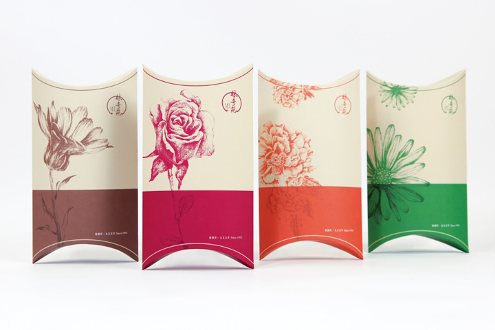 187 Lky Tea Packaging By Box Brand Design