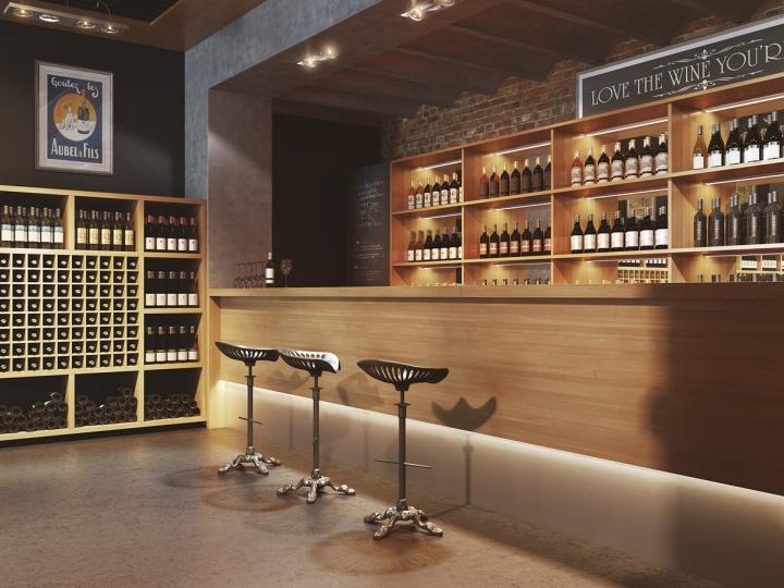 Wine Stores Lunita Wine Store By Viarde Studio 187 Retail