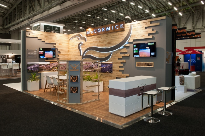 Exhibition Booth Pdf : Mccormick stand at sacsc by hott d cape town