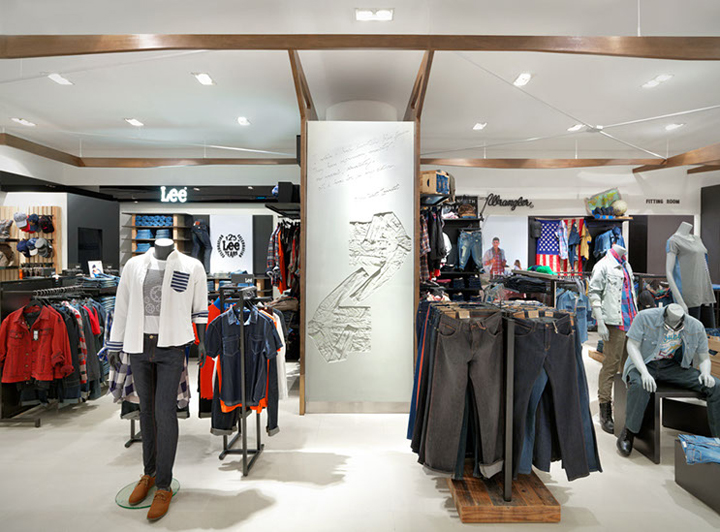 Mensfloor redesign at Paragon Department Store by HMKM