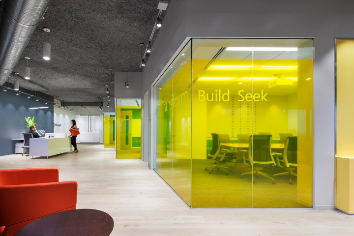 187 Microsoft Office And Customer Center Design By Perkins