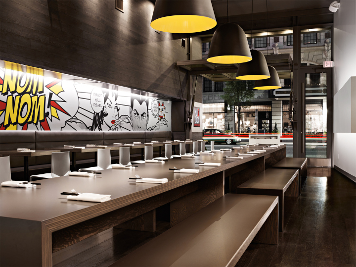 nudo restaurant by hdg architects spokane washington. Black Bedroom Furniture Sets. Home Design Ideas