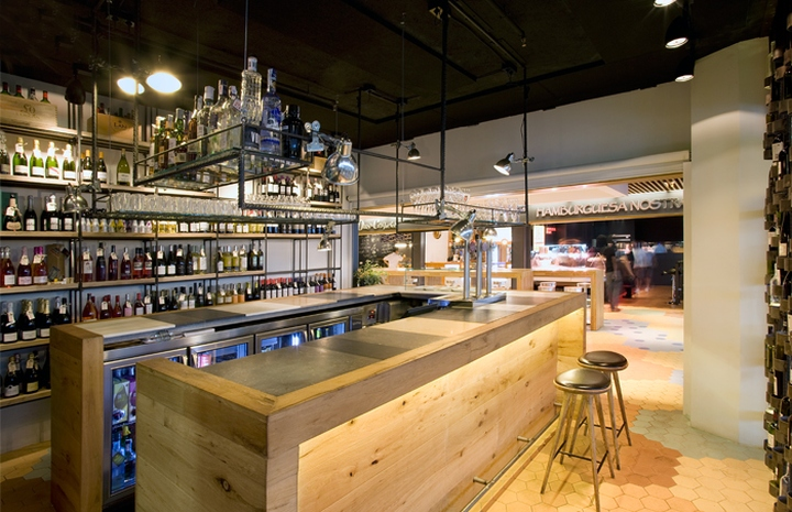 Retail design blog pan y vino wine store by sandra - Interioristes barcelona ...