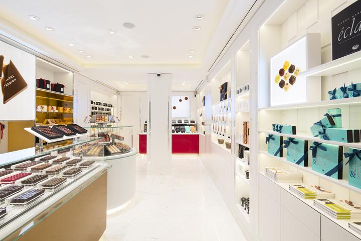 法国巴黎Pierre Marcolini 巧克力店设计