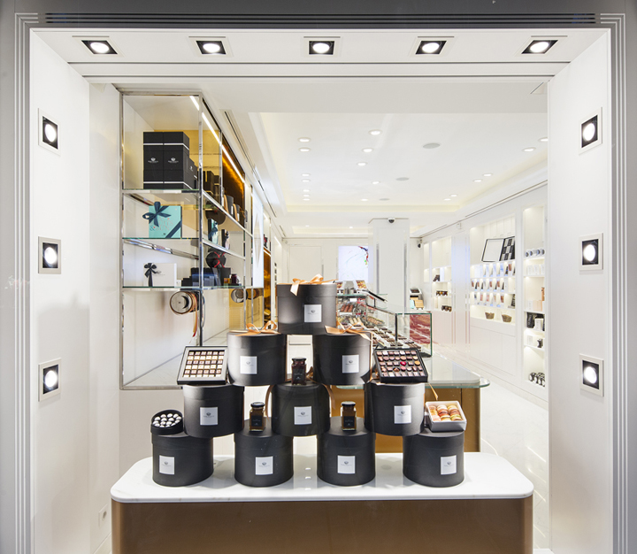 Lighting Stores In Paris: » Pierre Marcolini Store By Into Lighting & BETC Design