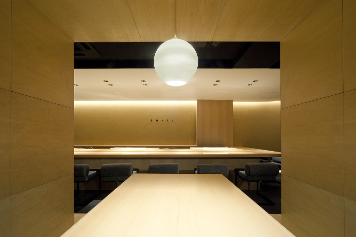 I cut off formative and decorative design and left only basic structure and lighting. In this sushi restaurant the chef and staffu0027s ... & Sushi Azuma restaurant by Stile Osaka u2013 Japan » Retail Design Blog azcodes.com