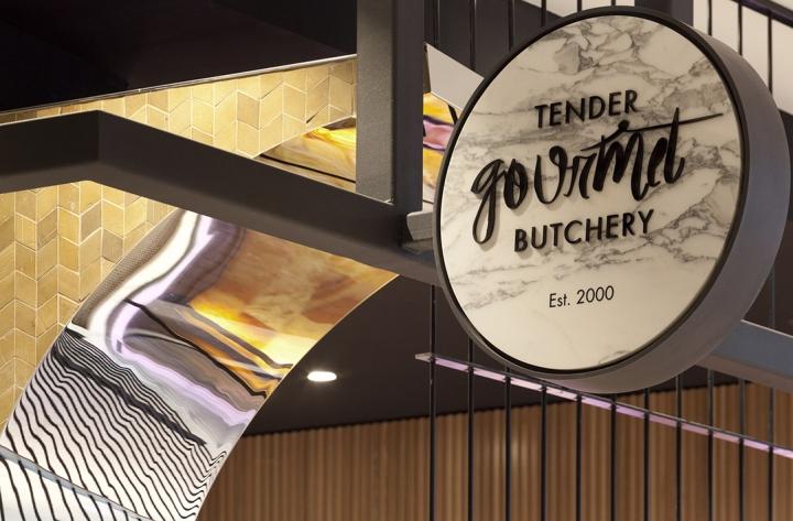 澳大利亚-悉尼–Tender Gourmet鲜肉香肠专卖店设计